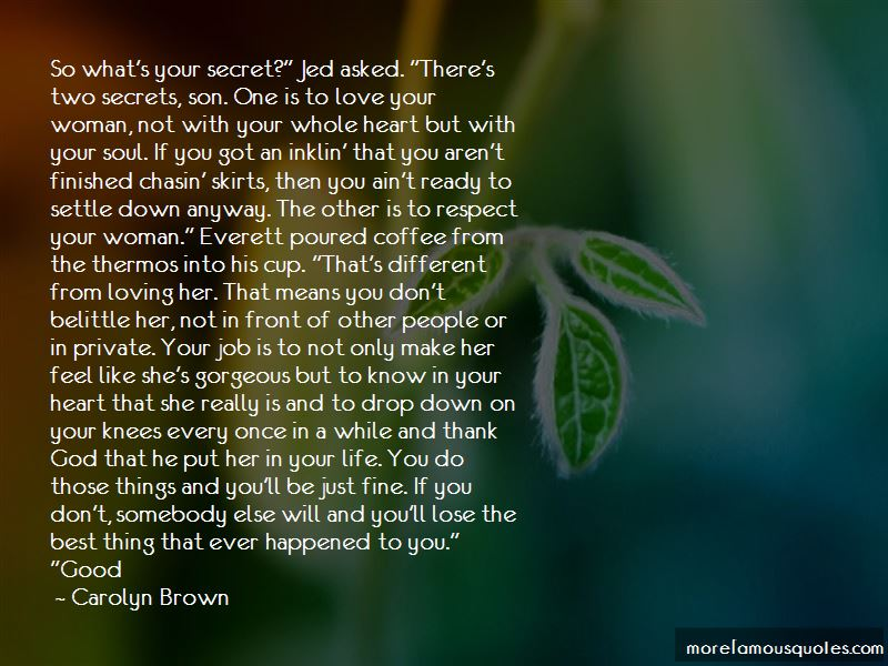 Quotes About Love Your Woman