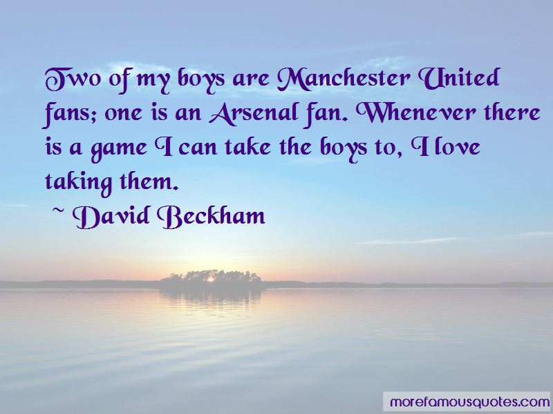 Quotes About Manchester United Fans