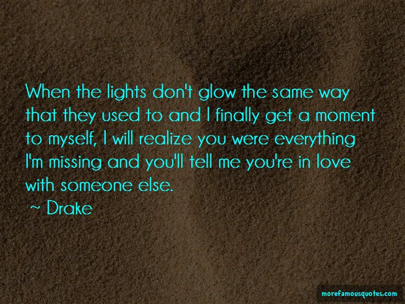 Quotes About Missing Someone You Used To Love: top 1 Missing ...