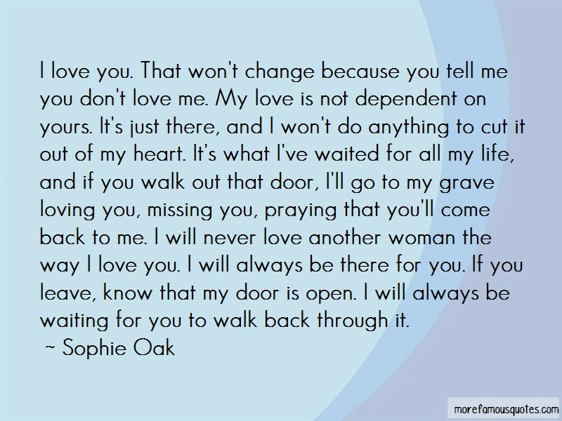 Missing The Woman You Love Quotes Pictures 3