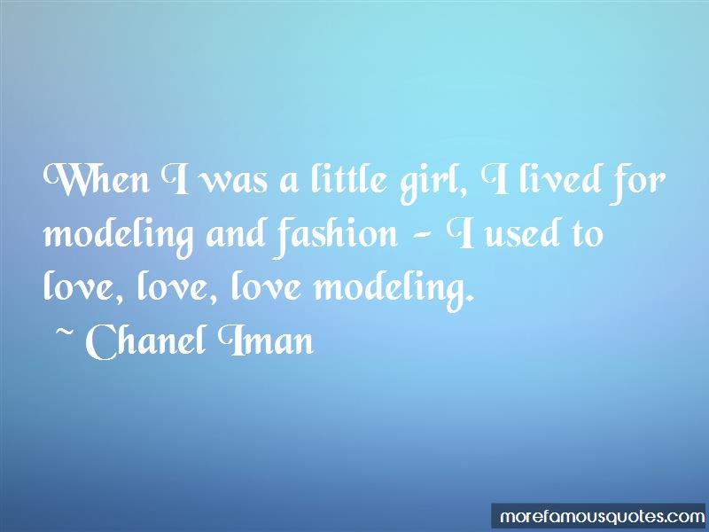 Quotes About Modeling And Fashion: top 20 Modeling And ...