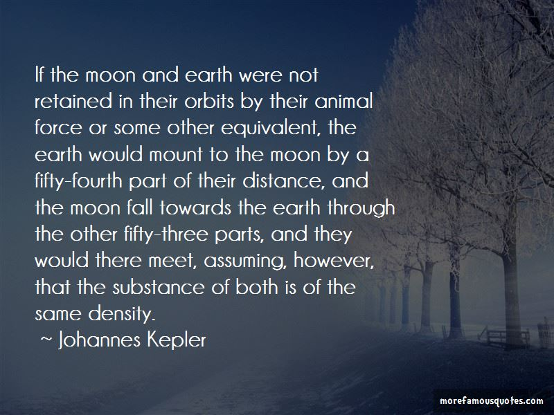 Quotes About Moon And Earth
