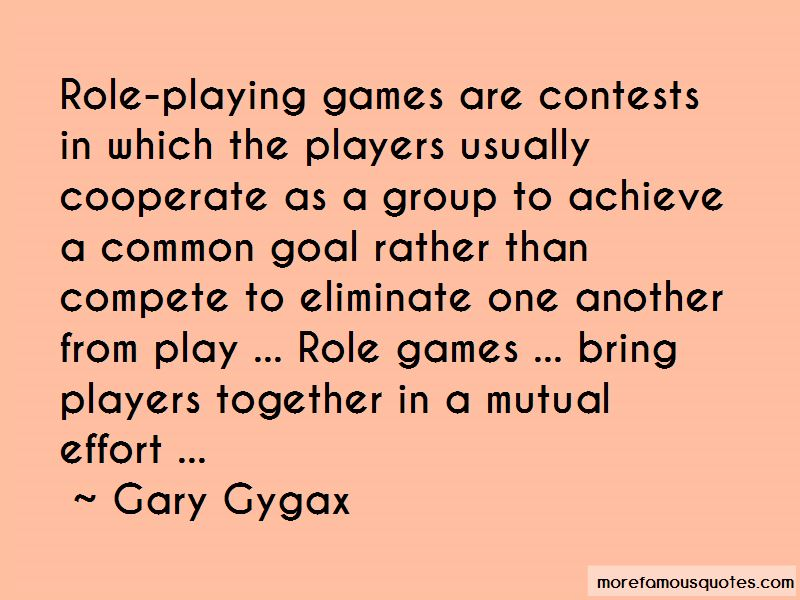 Quotes About Mutual Effort
