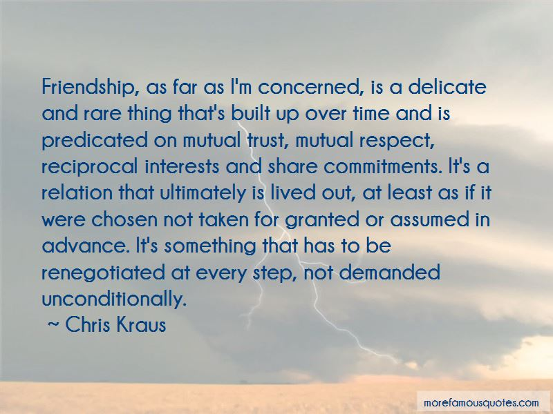 Quotes About Mutual Trust