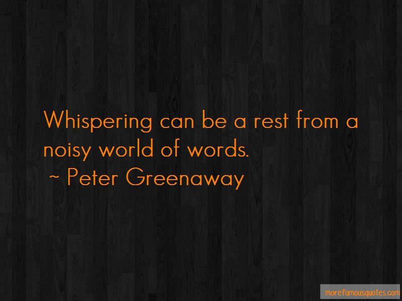 Noisy World Quotes Pictures 3