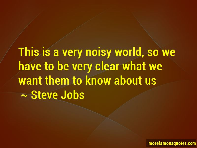 Noisy World Quotes Pictures 4