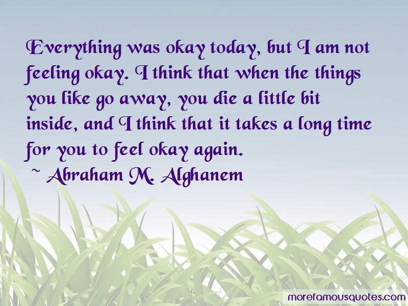 Quotes About Not Feeling Okay