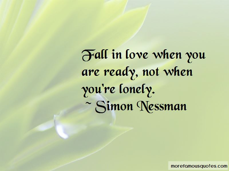 Not Ready To Fall In Love Quotes Pictures 4