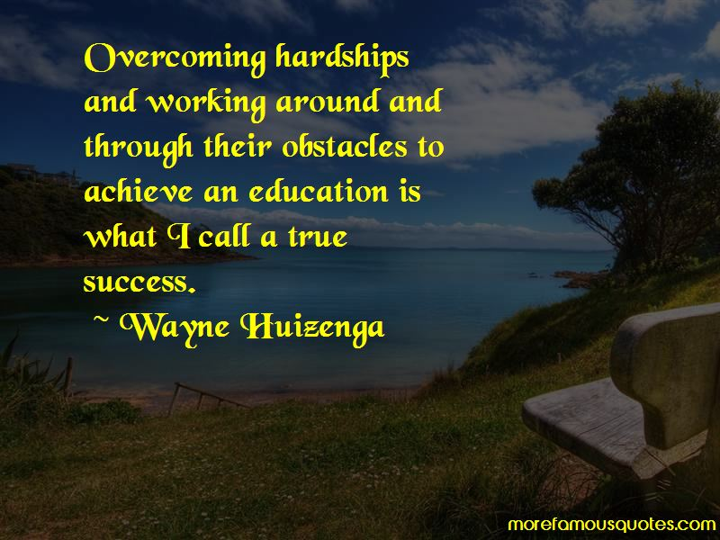 Quotes About Overcoming Obstacles In Education