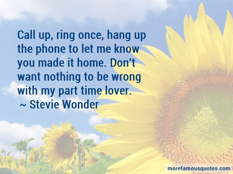 Quotes About Part Time Lover