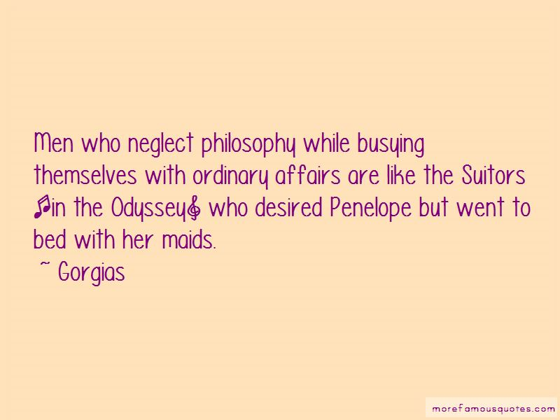 Quotes About Penelope And The Suitors
