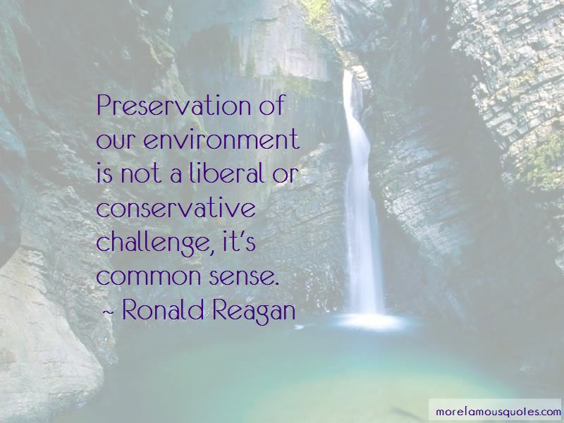Quotes About Preservation Of Environment