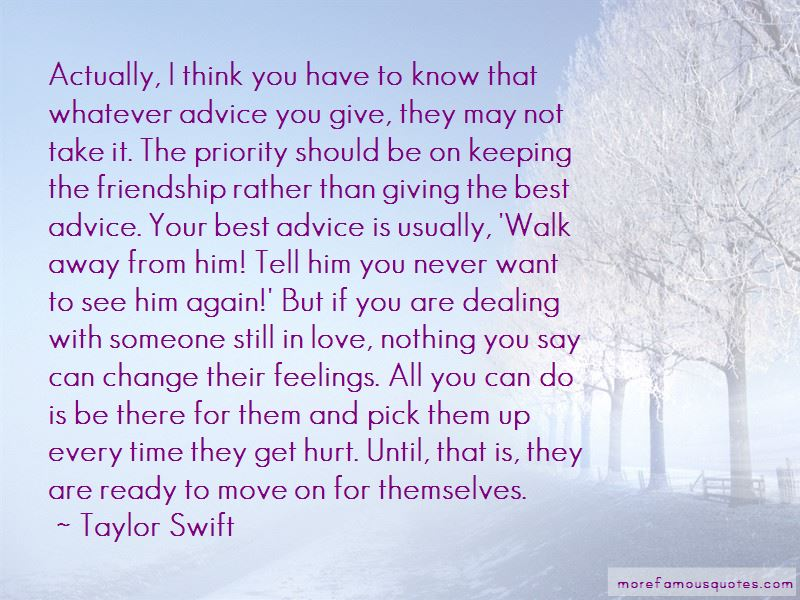 Priority In Friendship Quotes Pictures 2