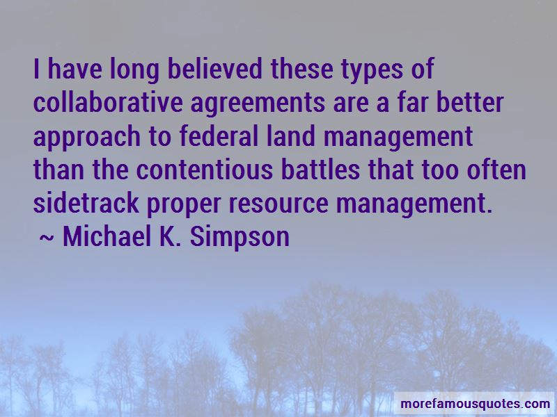 Quotes About Resource Management