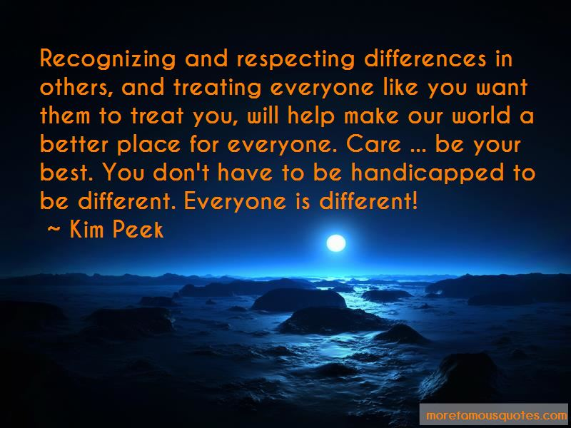 Quotes About Respecting Differences