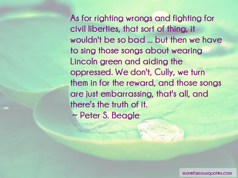 Quotes About Righting Wrongs