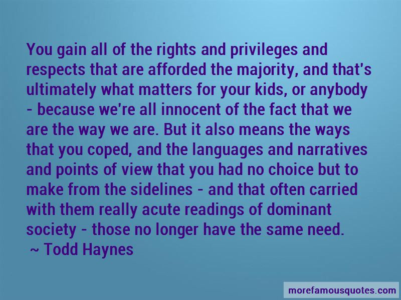 Quotes About Rights And Privileges