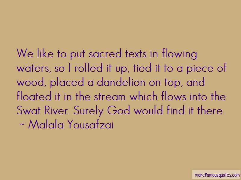 Quotes About Sacred Texts