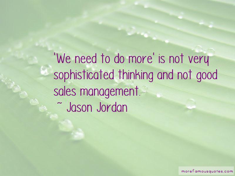 Quotes About Sales Management
