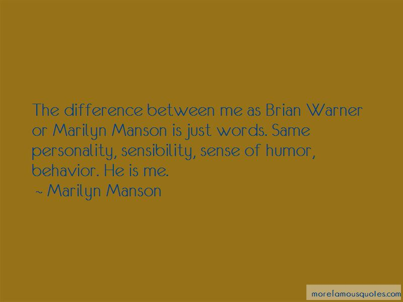 Quotes About Same Personality