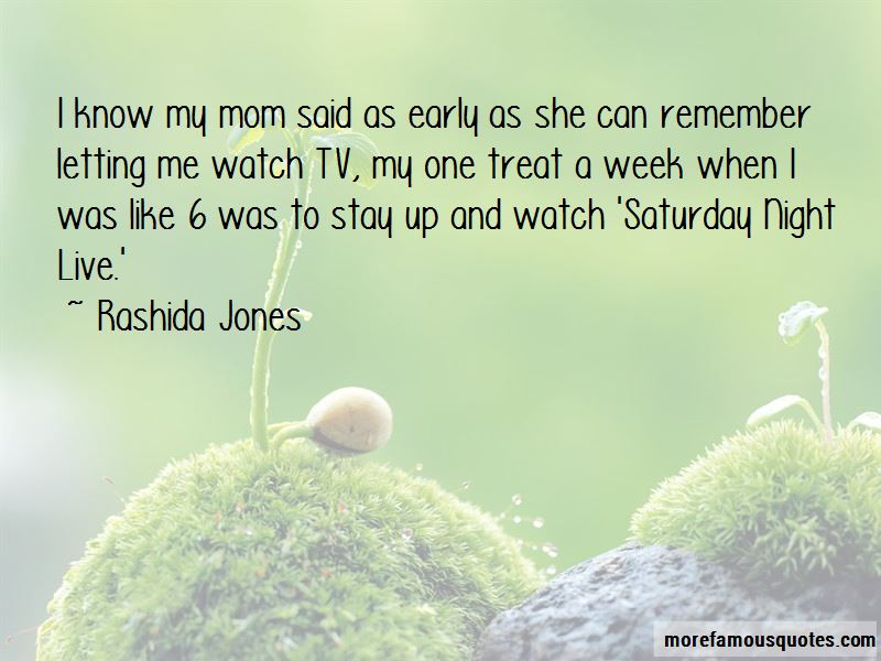 Quotes About Saturday Night