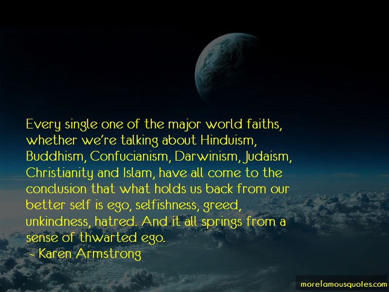 Quotes About Selfishness In Islam