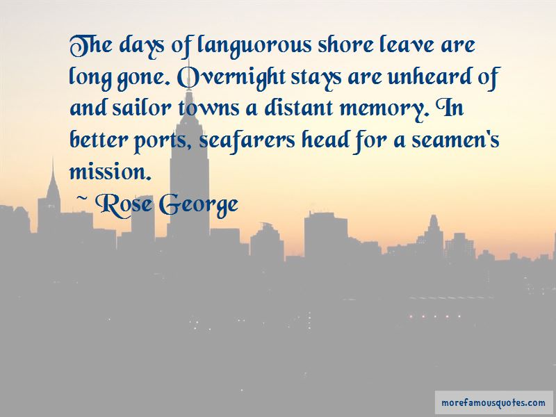 Quotes About Shore Leave