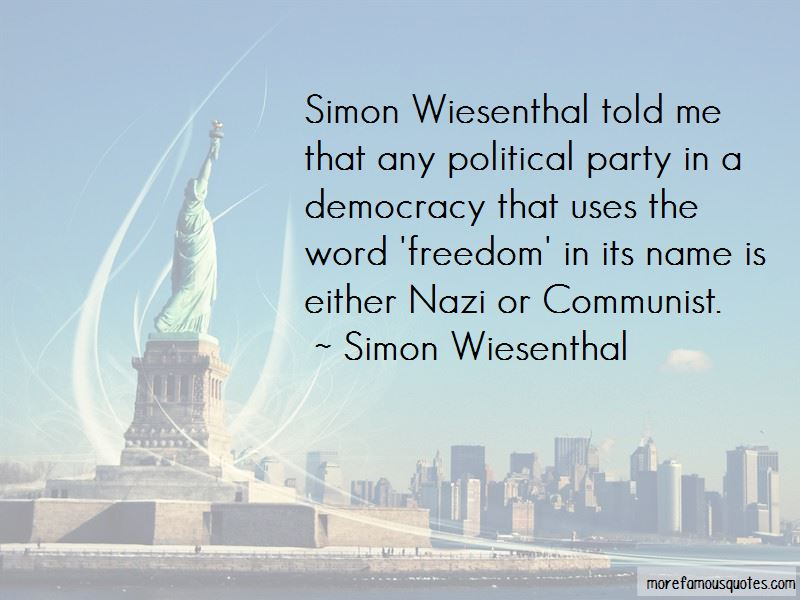 Simon Wiesenthal Quotes Pictures 3