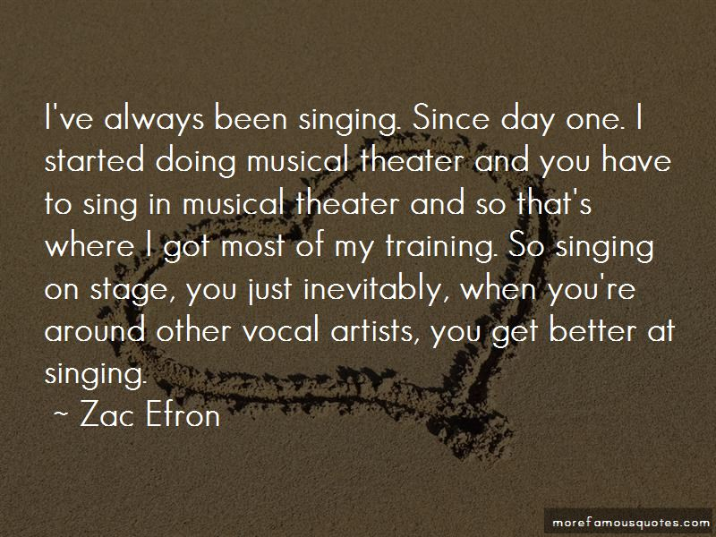 Singing On Stage Quotes Pictures 2