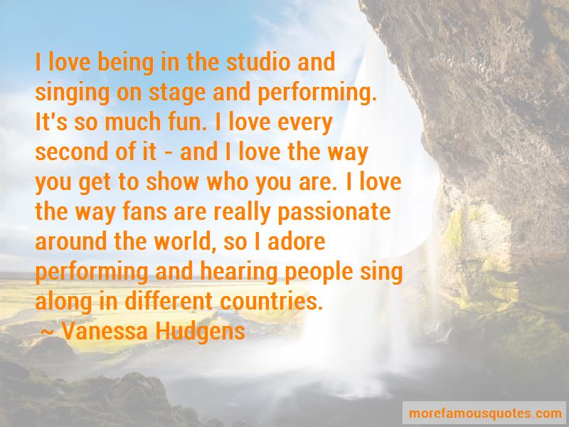 Singing On Stage Quotes Pictures 3