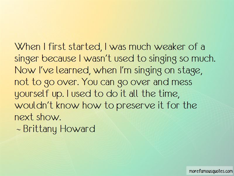 Singing On Stage Quotes Pictures 4
