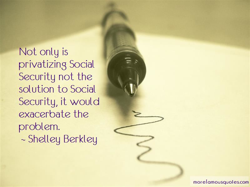 Quotes About Social Security