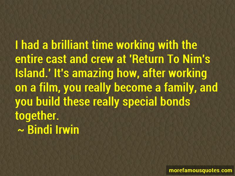 Quotes About Special Bonds