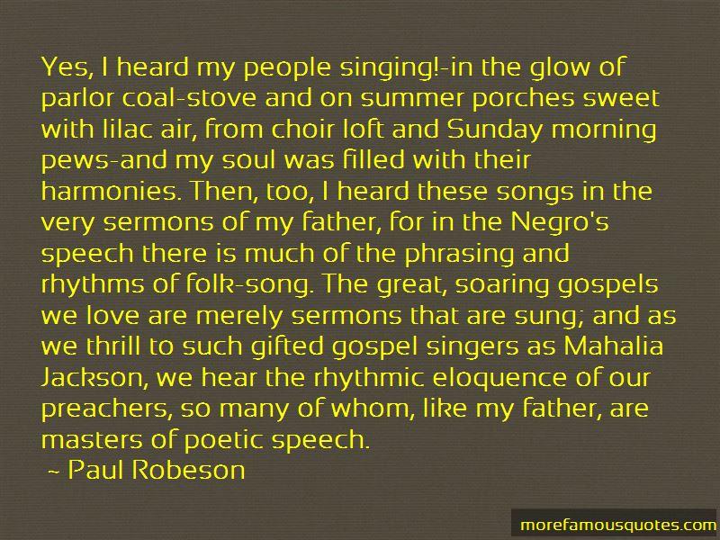 Quotes About Speech Choir