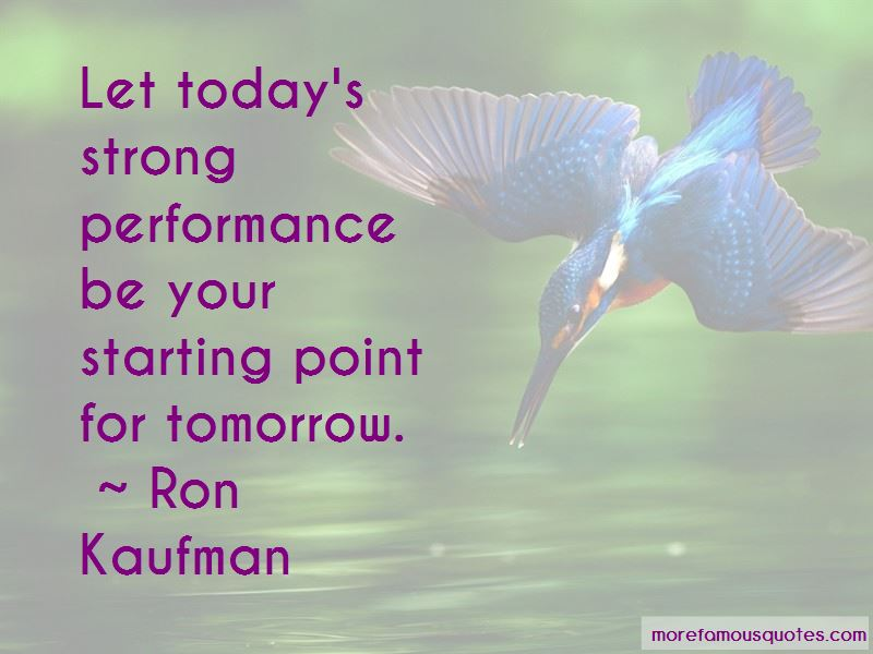 Quotes About Starting Strong