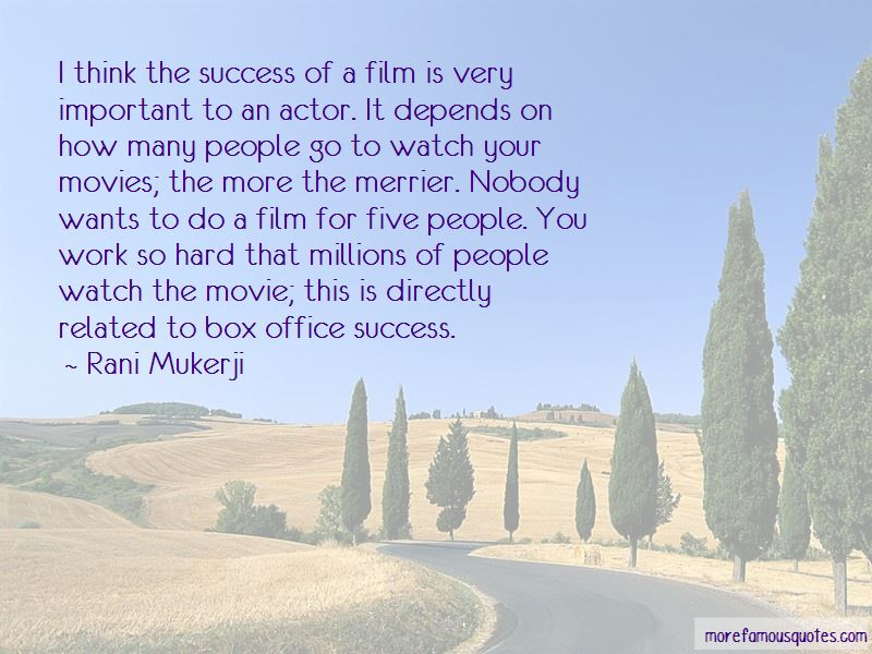 Quotes About Success From Movies