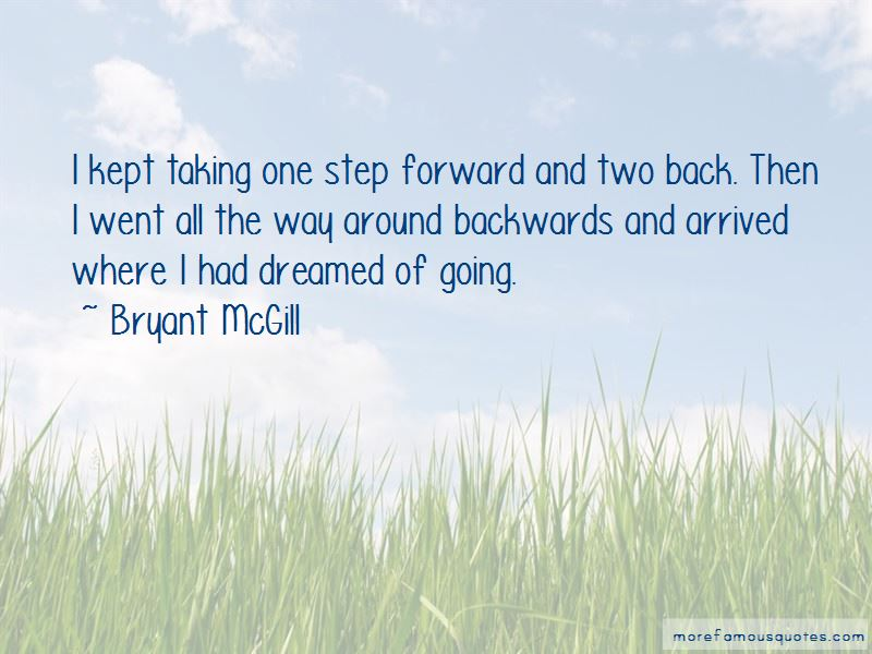 Quotes About Taking One Step Forward