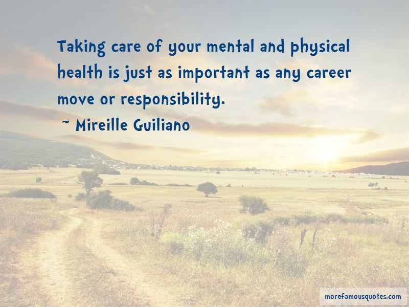 Quotes About Taking Responsibility For Your Health