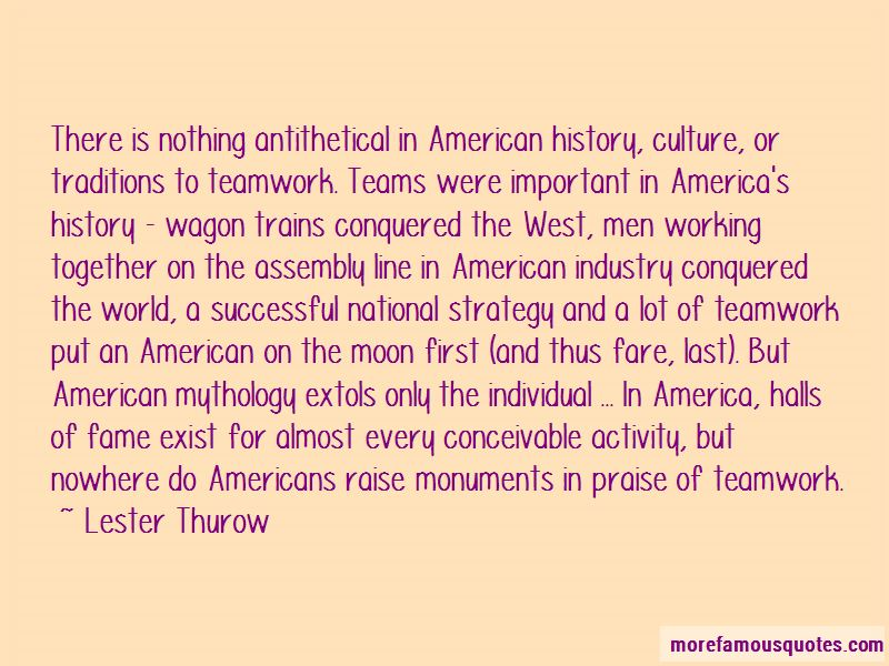 Quotes About Teams And Teamwork