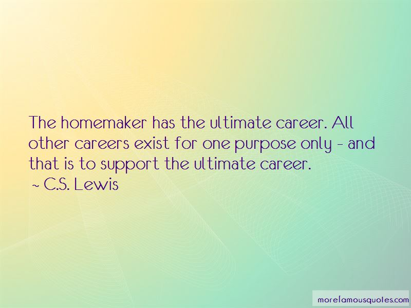 Quotes About The Homemaker