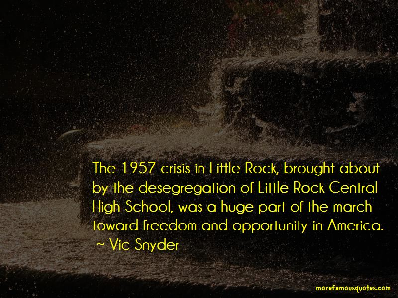 Quotes About The Little Rock Crisis