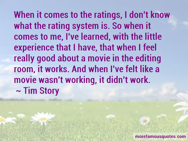 Quotes About The Movie Rating System