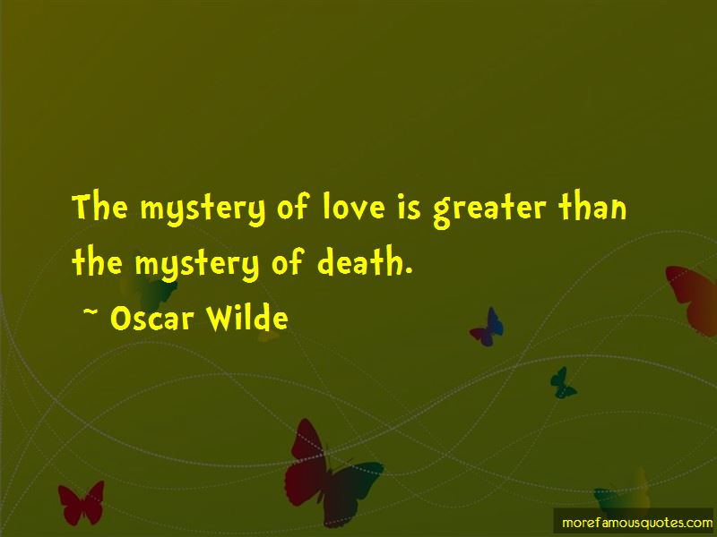 The Mystery Of Death Quotes Pictures 4
