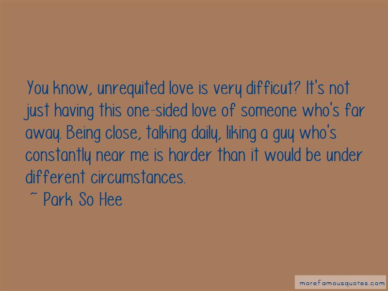 Quotes About The One You Love Being Far Away: top 1 The One