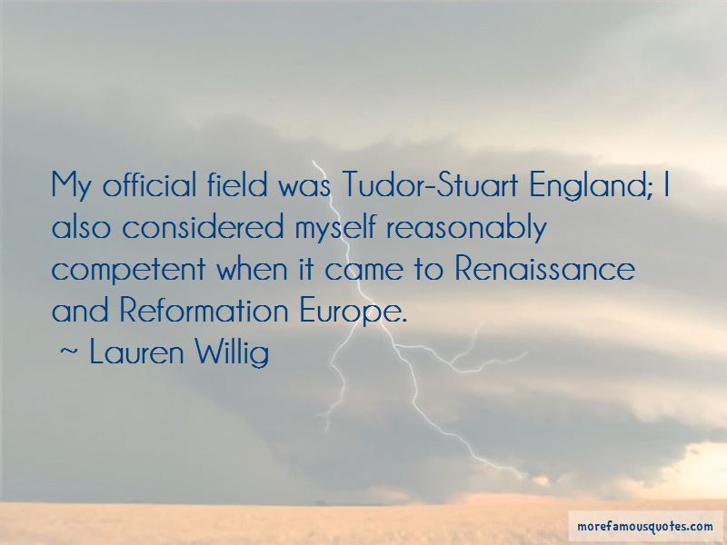 Quotes About The Reformation Of England