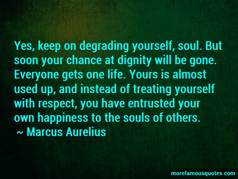 Quotes About Treating Yourself With Respect