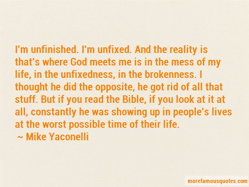 Quotes About Unfinished