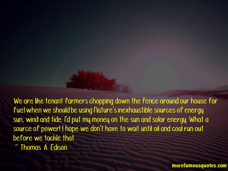 Quotes About Using Solar Energy