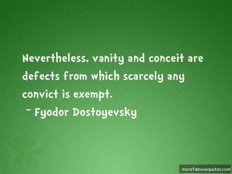 Quotes About Vanity And Conceit