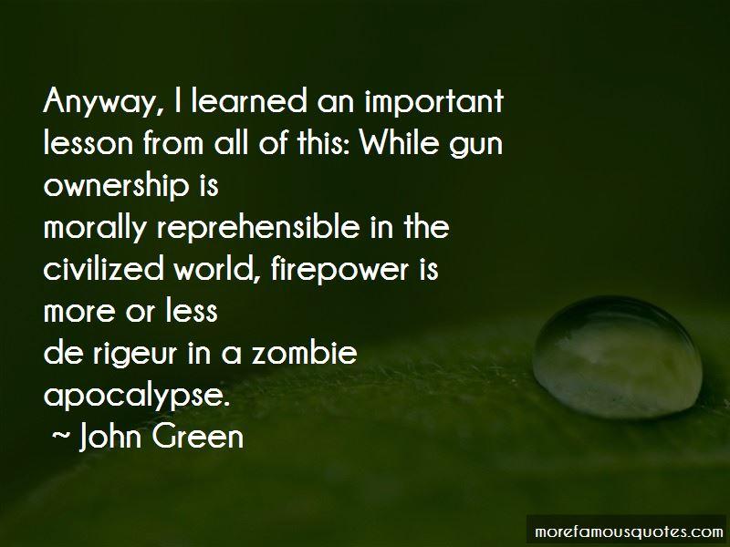 Zombie Apocalypse Quotes Pictures 2